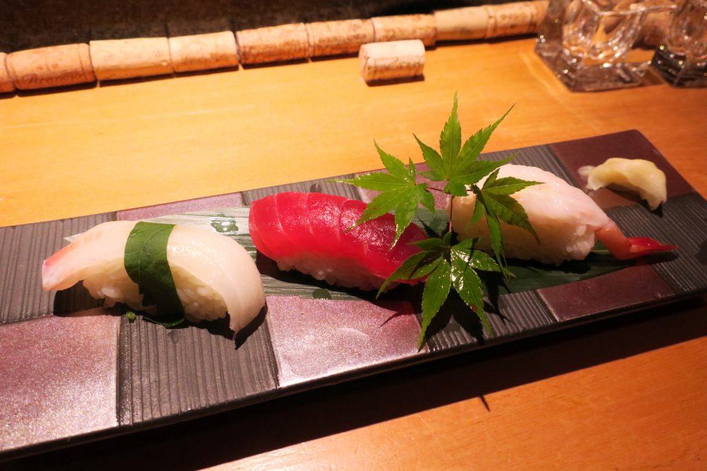 食堂あいそのお寿司