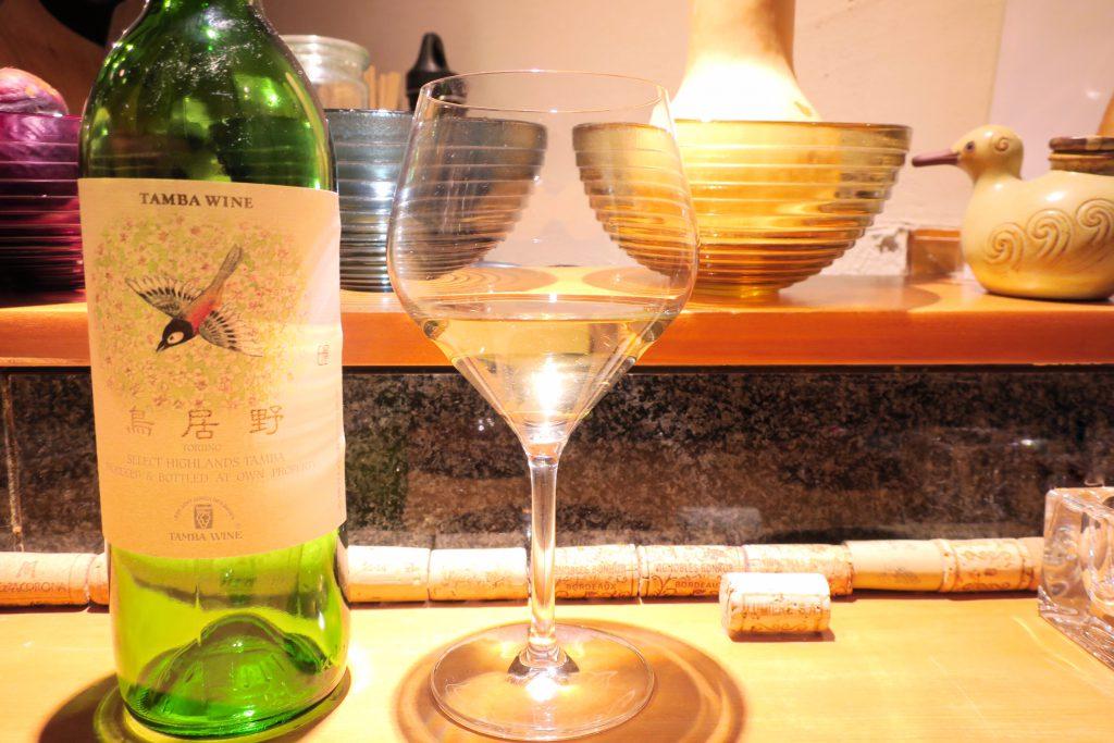 丹波ワイン / 鳥居野 リースリング