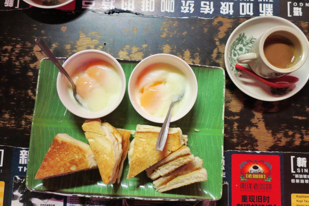 南洋老珈琲(Nanyang Old Coffee)のカヤトースト