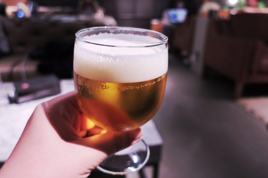 The Millennials KYOTO ビールのフリーサービス