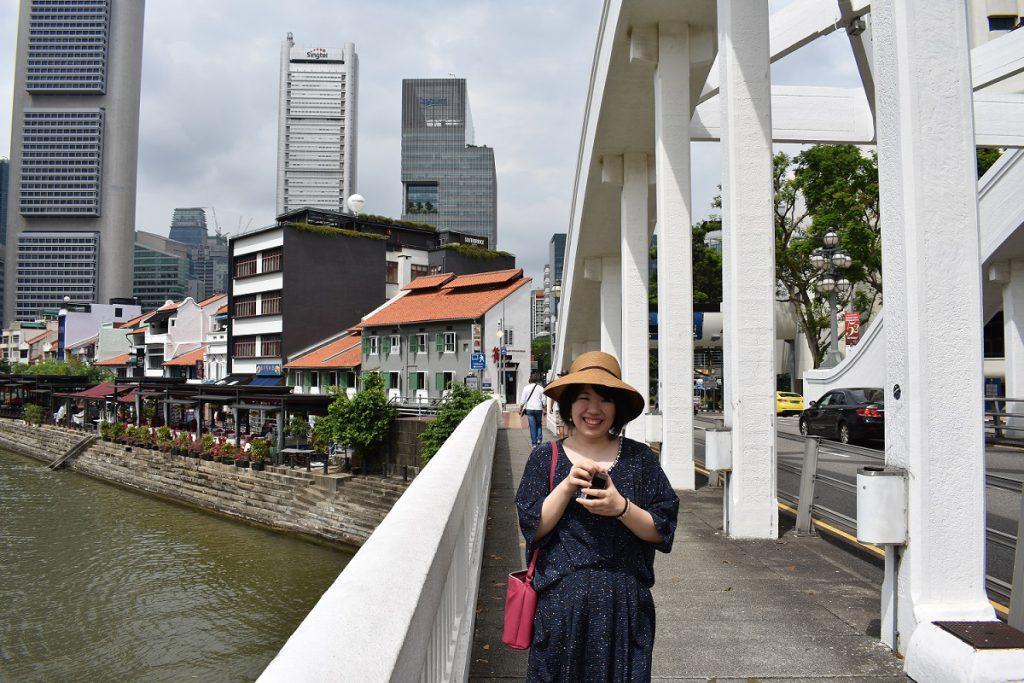 シンガポール2回目のわたし