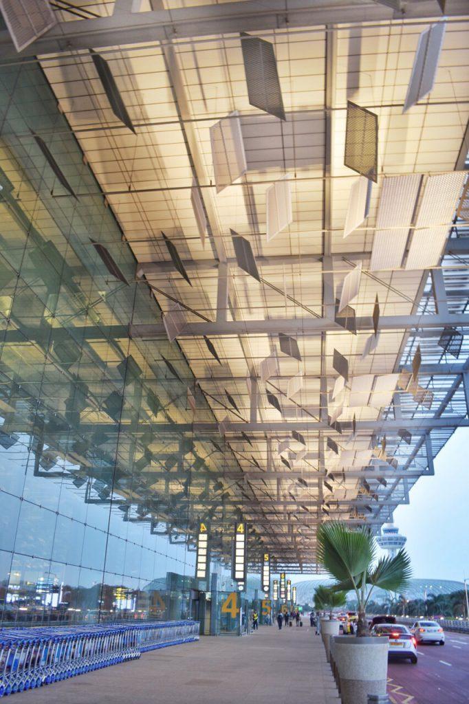 チャンギ空港第3ターミナル入口