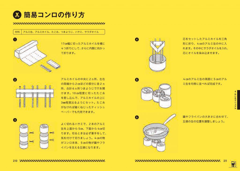 カセットコンロの作り方