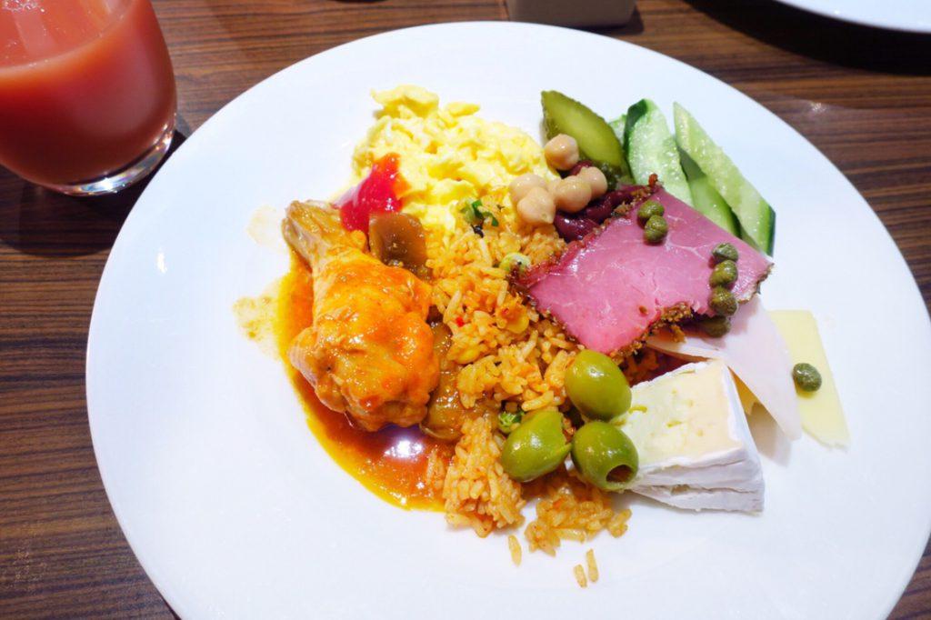 パン パシフィック サービススイート ビーチロード シンガポールの朝食ビュッフェ