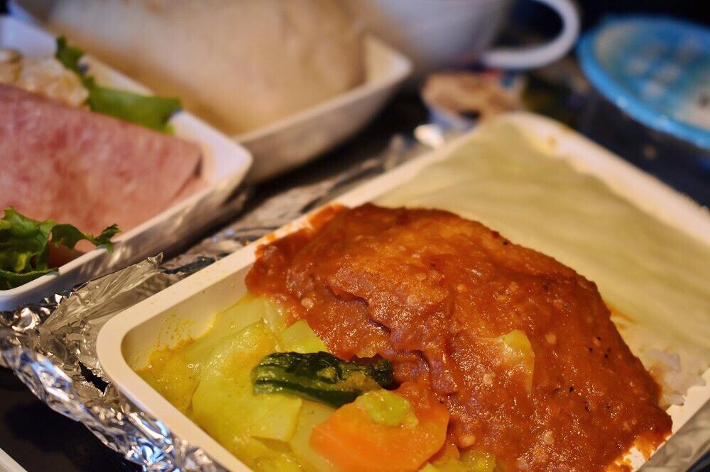 シンガポール航空機内食ブックザクック サンバルフィッシュ2