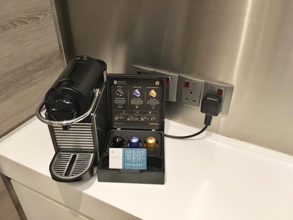 ネスカフェのコーヒーマシーン