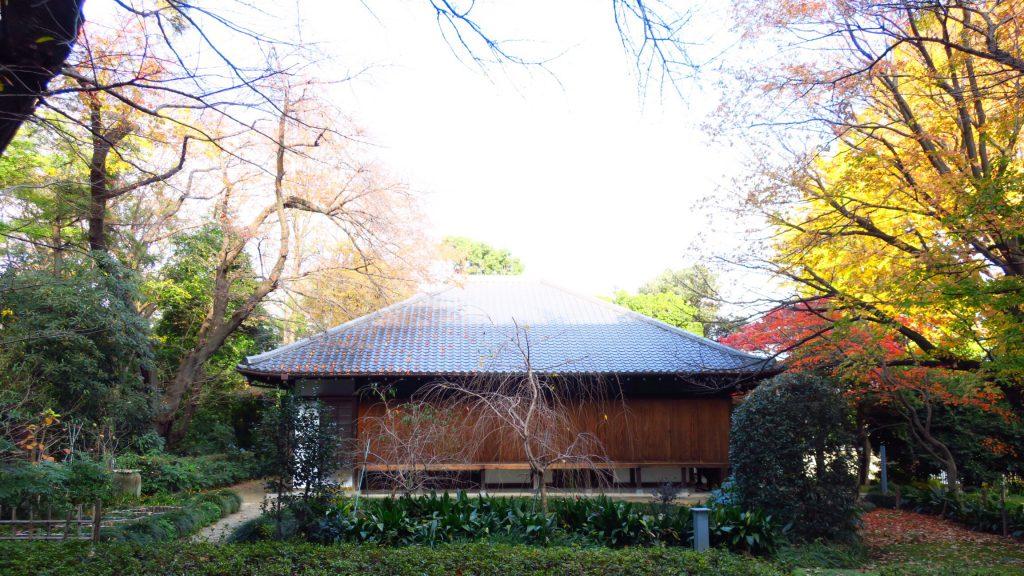東京国立博物館庭園にある九条館