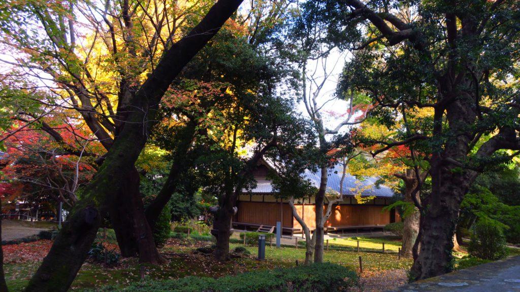 東京国立博物館庭園にある応挙館