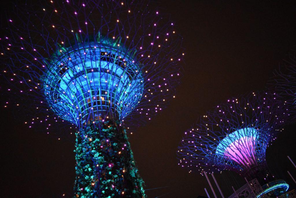 シンガポール・ガーデンズ・バイ・ザ・ベイのスーパーツリー