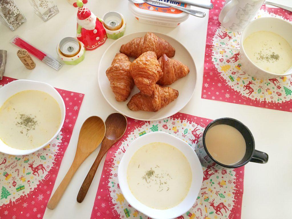 クリスマスイブの朝食
