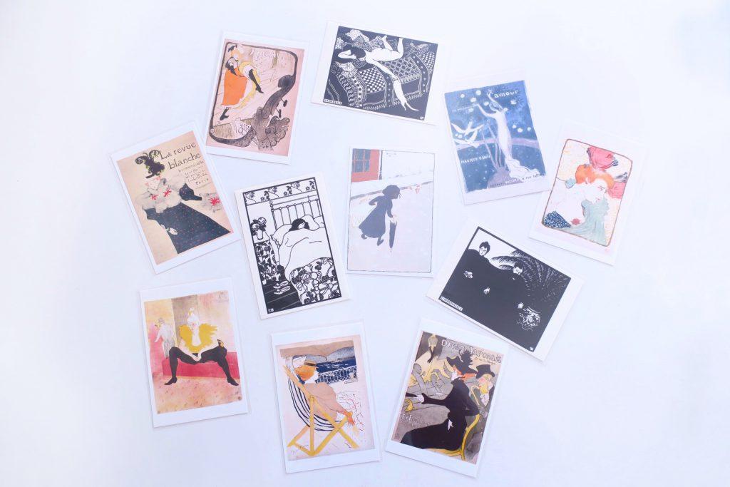 パリグラフィック展 ポストカード