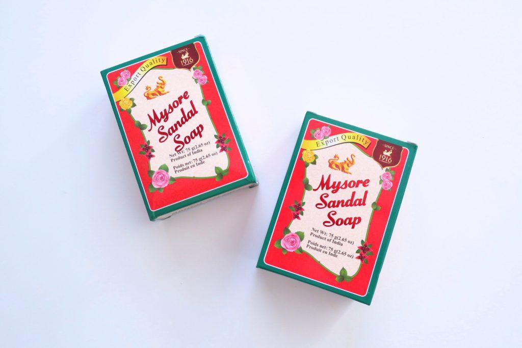Mysore Sandal Soap マイソールサンダルソープ