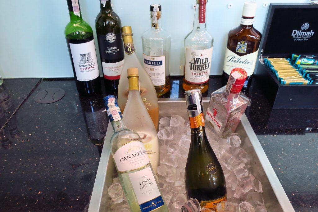 Polonez Lounge 洋酒コーナー