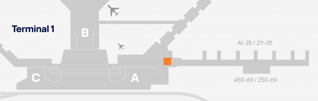 今回利用したフランクフルト空港のセネターラウンジ