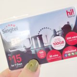 Singtel SIM card for tourist