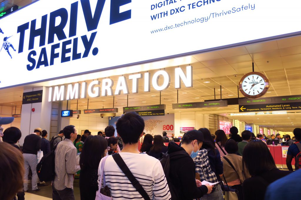 changi airport immigration