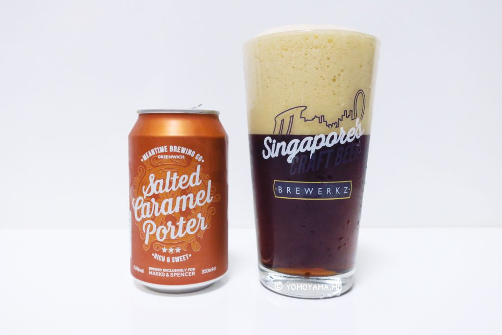 marks & spencer - Salted Caramel Porter