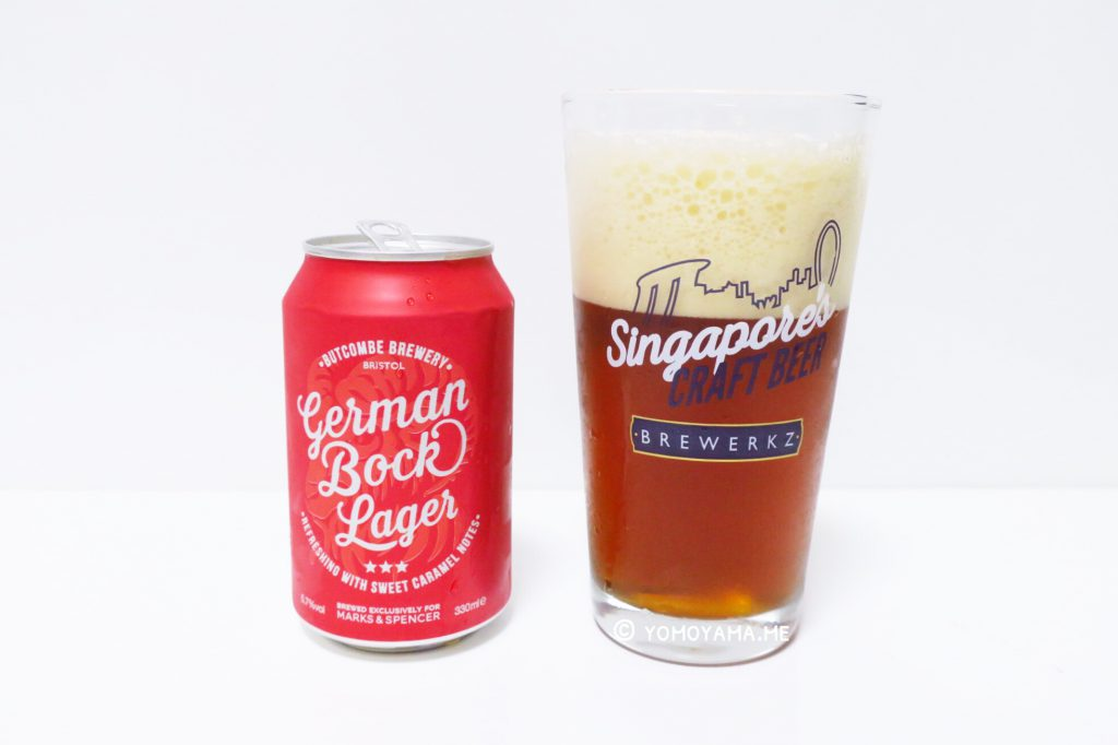 marks & spencer - German bock Lager