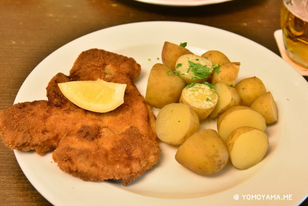 schnitzel in prague