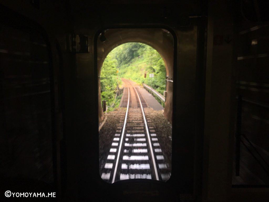 青春18きっぷ旅 快速べにばな トンネルの向こうには…