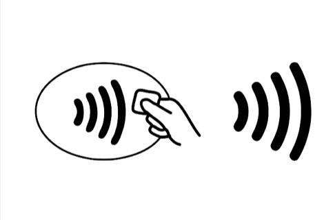 タッチ決済 / コンタクトレス決済のロゴ