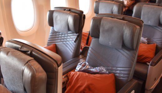 シンガポール航空のA380プレミアムエコノミー、クリスマスシーズン搭乗レポ!ゆとりの空間&サービス充実!