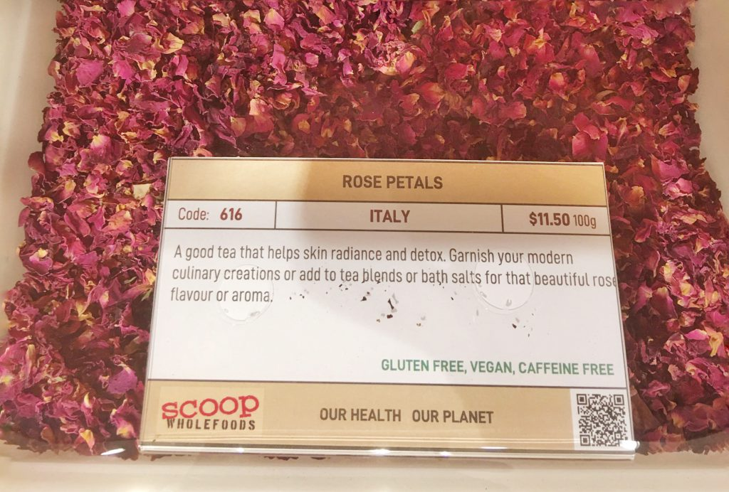 Scoop ROSE PETAL