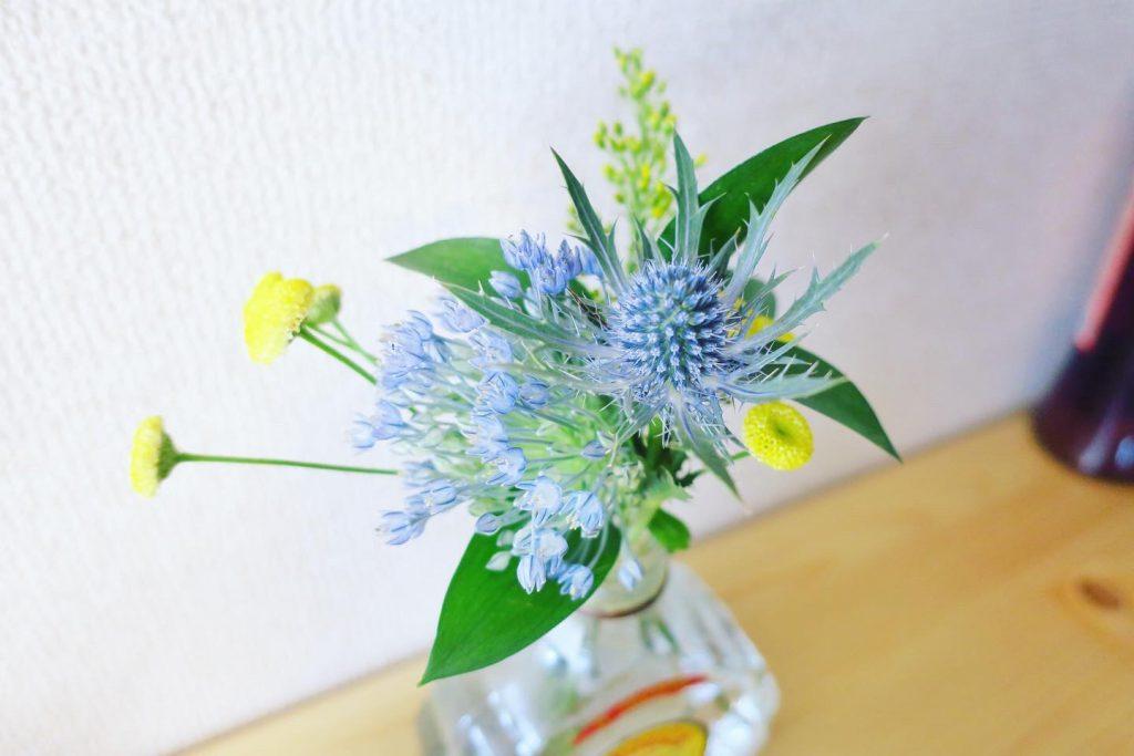 FLOWERで頼んだお花