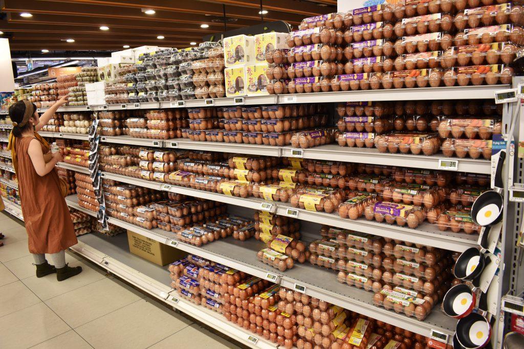 シンガポール スーパーグルメ 卵