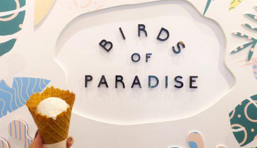 【シンガポール】カトン&チャンギ空港の「BIRDS OF PARADISE」連日食べてしまった魅惑のボタニカル・ジェラート