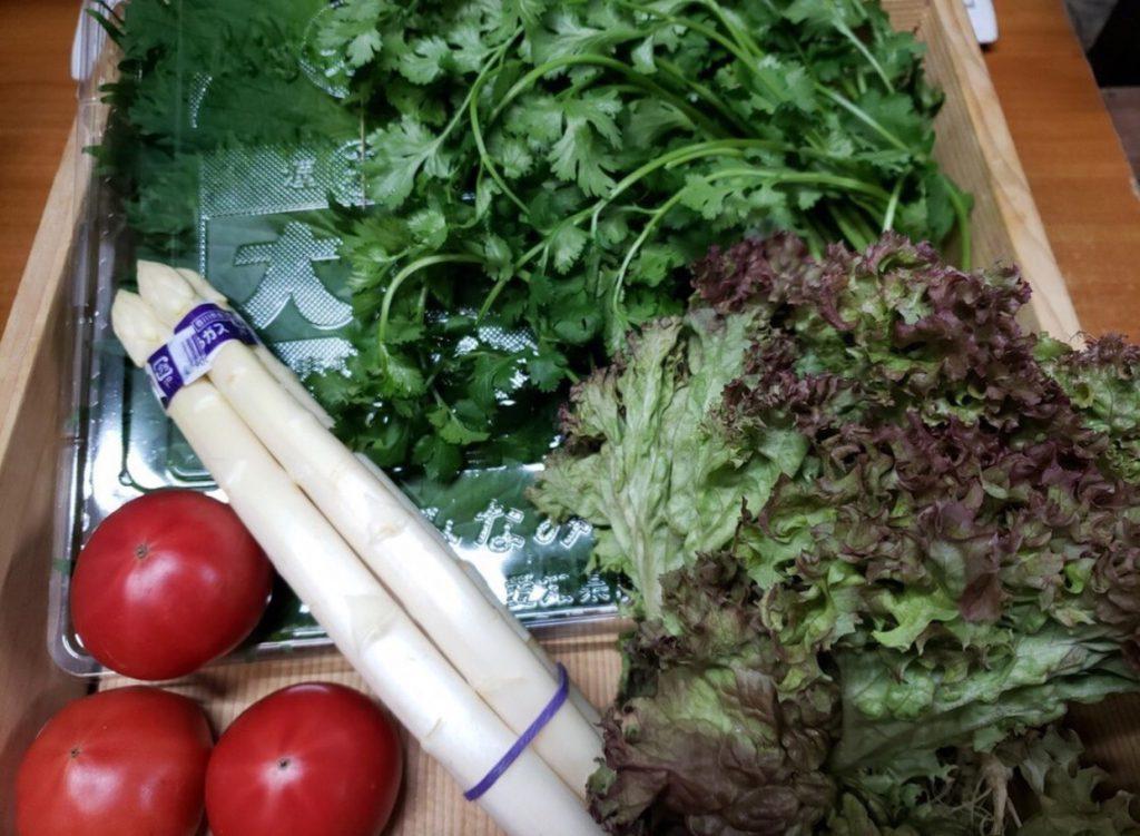 クックパッドマートの春のサラダ野菜セット