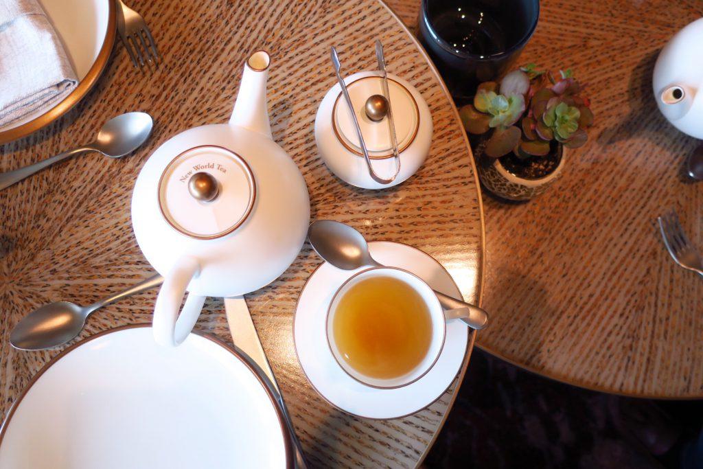 マンダリン・オリエンタル・シンガポールのWhite Knight Tea