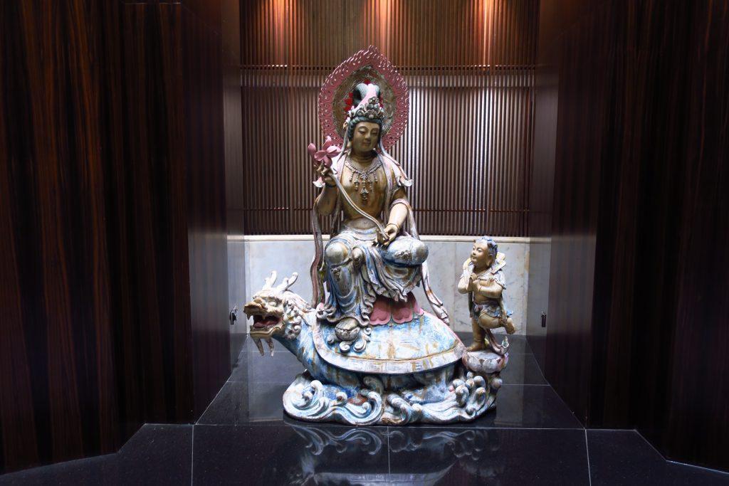 マンダリン・オリエンタル・シンガポールの仏像