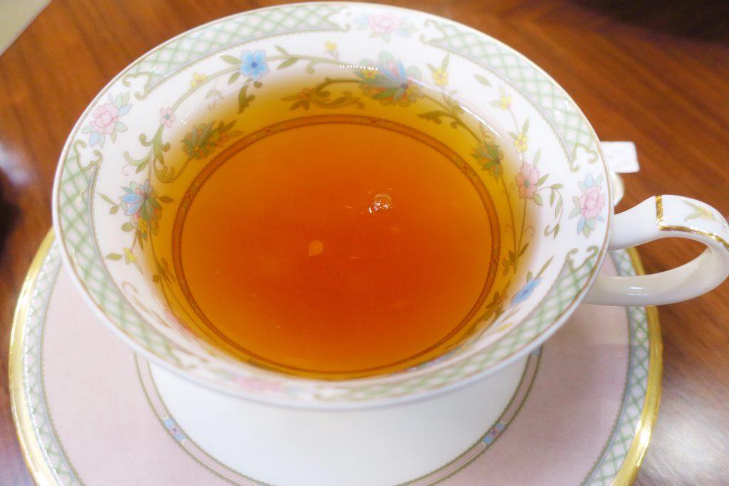 名古屋東急ホテルのアフタヌーンティーにはTWGの紅茶もある