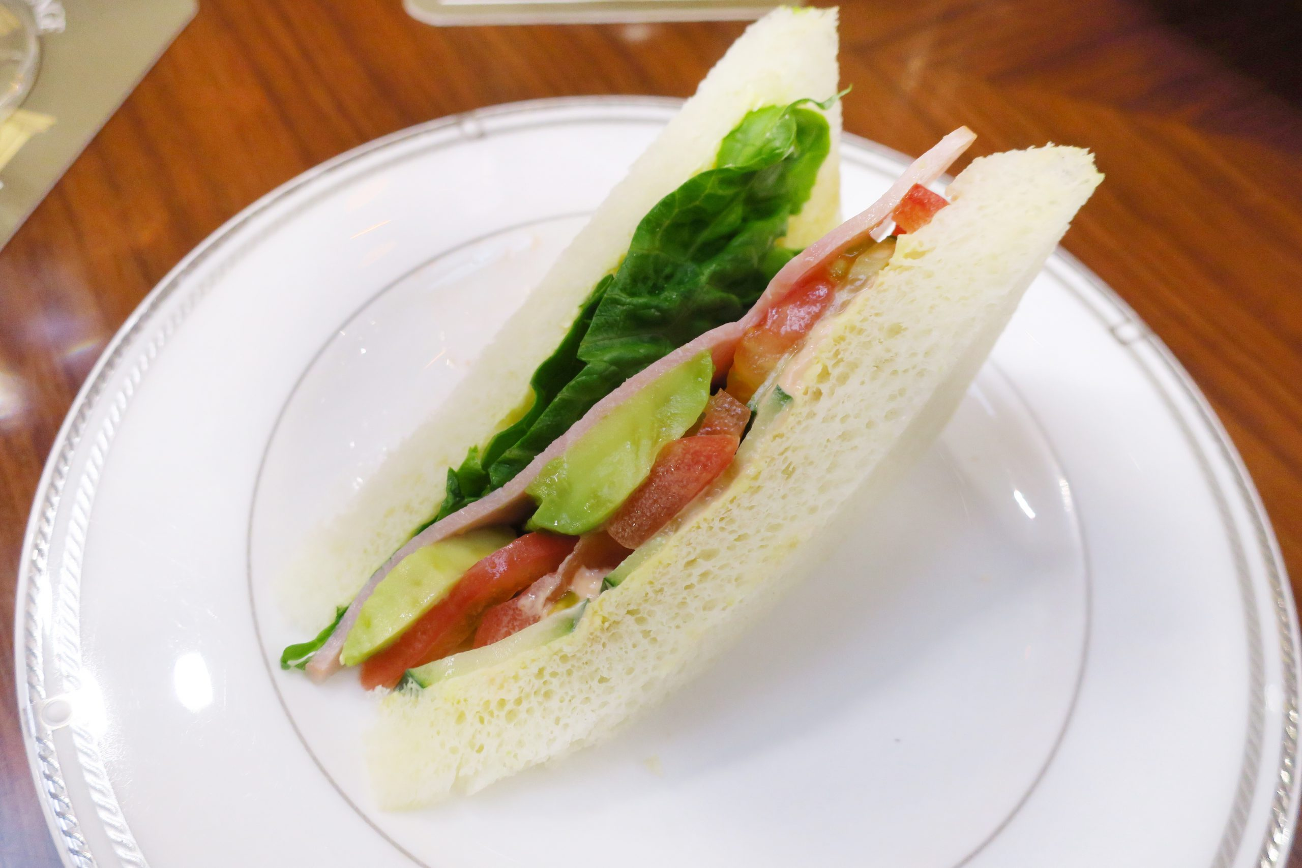 名古屋東急ホテルのアフタヌーンティー サンドイッチ