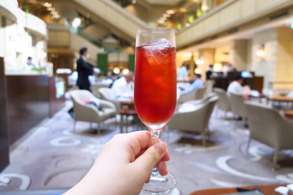 名古屋東急ホテルのアフタヌーンティー ウエルカムドリンク
