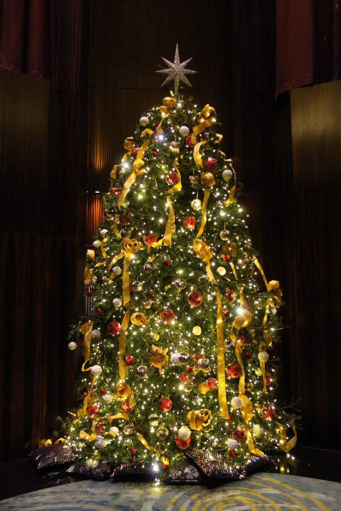 マンダリン・オリエンタルのクリスマスツリー