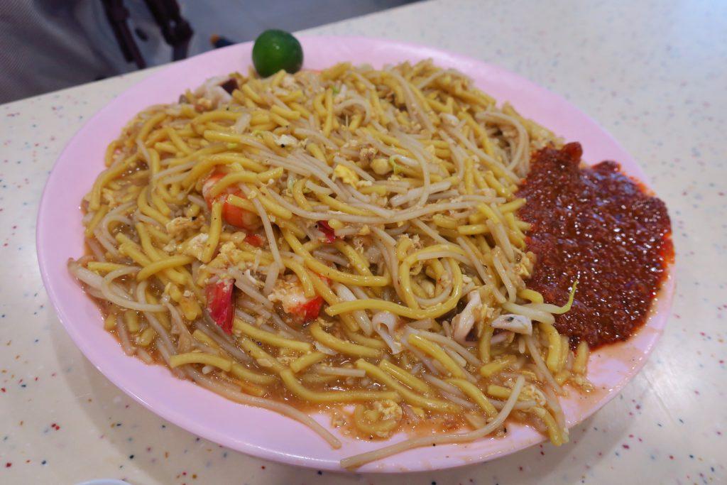 Hong Heng Fried Sotong Prawn Noodles 鸿興炒蘇東蝦麵