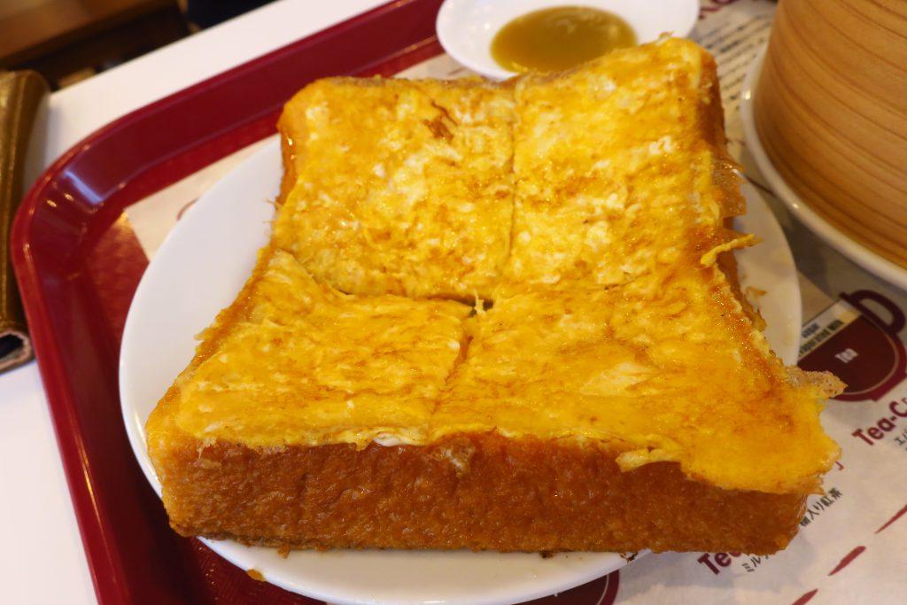 ヤクンカヤトーストのフレンチトースト