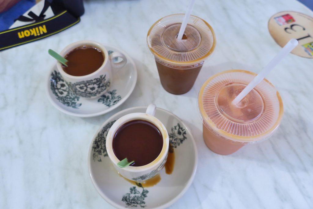 ヤクンカヤトーストのコピとアイスコピC(シンガポール)