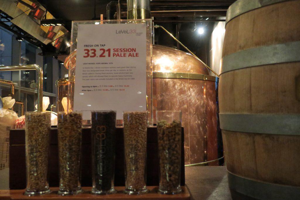 Level 33 ビールの説明