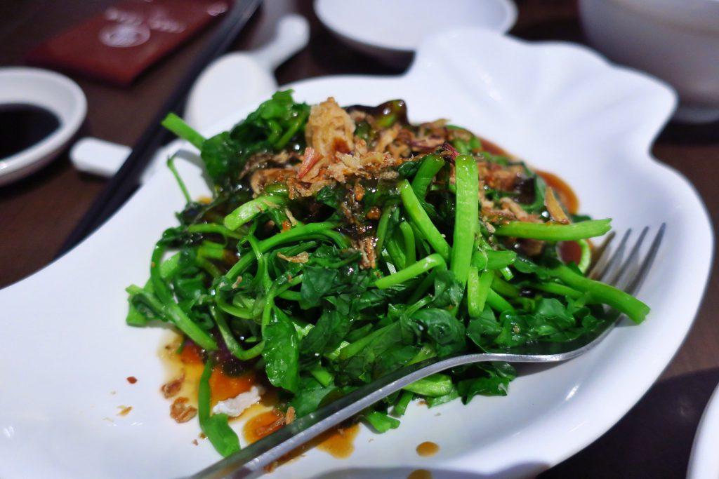 TUAN YUANの青菜(CHYE SIM)