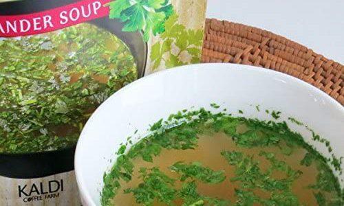 【レシピ】大人気!カルディのパクチースープで即席トムヤムクン!ダイエット中のお夜食にも♡